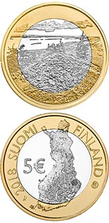 5 euro coin Koli National Park | Finland 2018
