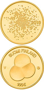 100 euro coin Constitution Act of Finland 1919 | Finland 2019