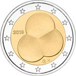 2 euro coin Constitution Act of Finland 1919 | Finland 2019