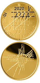 100 euro coin 100 Years of the University of Turku | Finland 2020