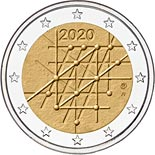 2 euro coin 100 Years of the University of Turku | Finland 2020