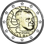 2 euro coin 100th Anniversary of the Birth of Väinö Linna | Finland 2020