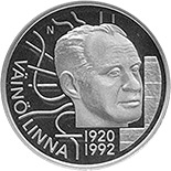 20 euro coin 100th Anniversary of the Borth of Väinö Linna | Finland 2020