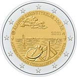 2 euro coin Åland Autonomy 100 years | Finland 2021