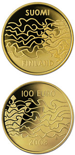 100 euro coin The Finnish War and the Birth of Autonomy  | Finland 2008
