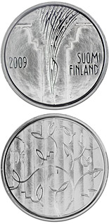 10 euro coin The Council of State 200 years  | Finland 2009