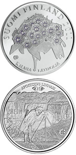 10  coin Pehr Kalm and European Explorers  | Finland 2011