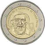 2 euro coin 100th Anniversary of Abbé Pierre's birth | France 2012