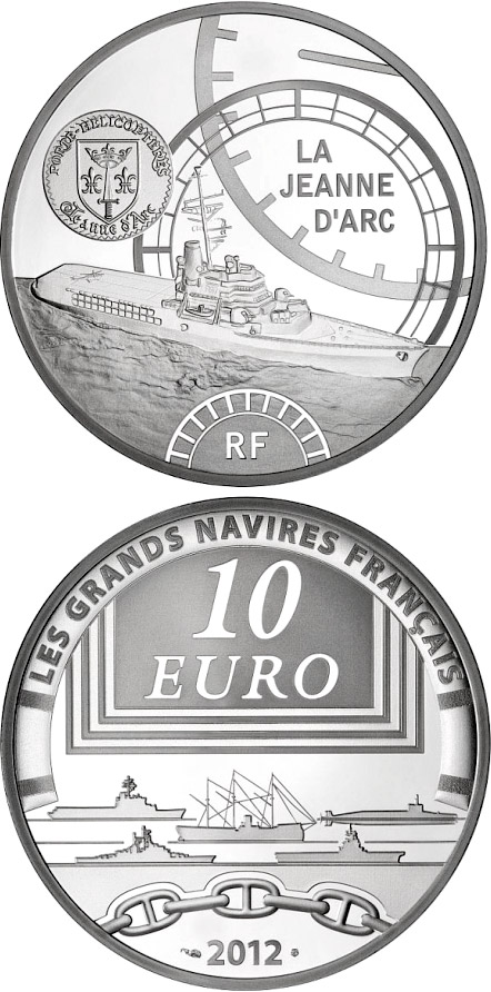 Image of 10 euro coin – The Jeanne d'Arc | France 2012