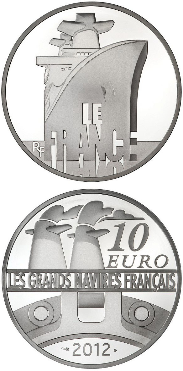 Image of The France – 10 euro coin France 2012