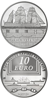 10 euro coin The Gloire | France 2013