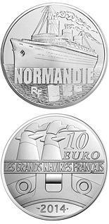 10 euro coin Normandie | France 2014
