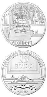 10 euro coin Colbert | France 2015