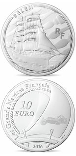 10 euro coin Belém | France 2016