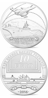 10 euro coin Charles de Gaulle | France 2016
