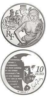 10 euro Nana - 2011 - Series: Legendary Characters from French Literature - France