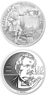 10 euro Rastignac - 2014 - Series: Legendary Characters from French Literature - France