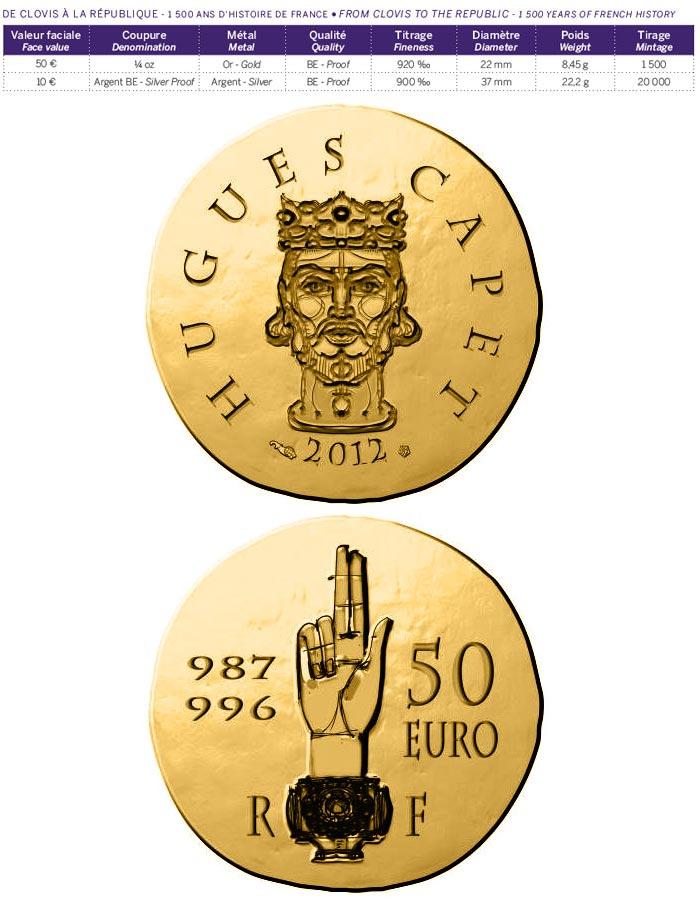 10 euro coin - Saint Louis | France 2012
