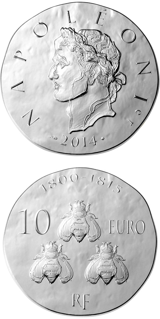 Image of a coin 10 euro | France | Napoleon I | 2014