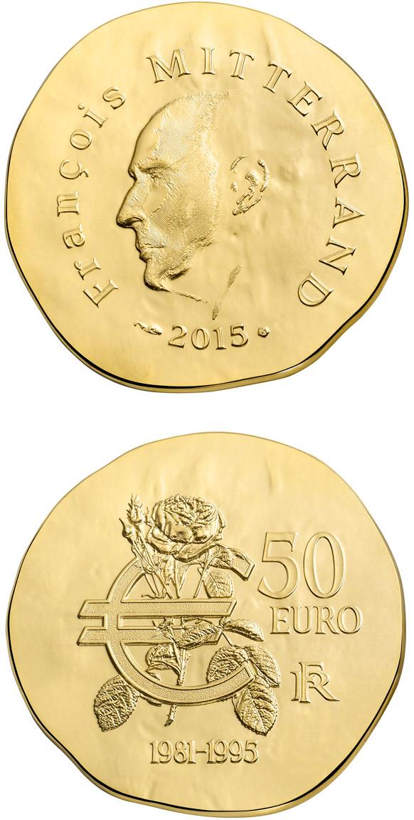 10 Euro Coin Fran 231 Ois Mitterrand France 2015