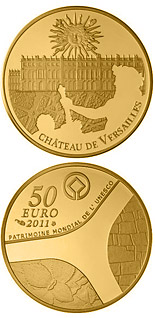 50 euro coin Palace of Versailles | France 2011