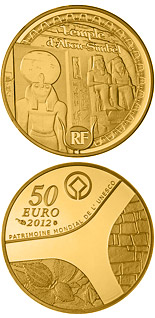 50 euro coin Egyptian Heritage | France 2012