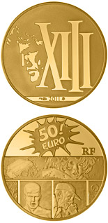 50 euro coin XIII | France 2011