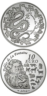10 euro coin Year of the Dragon | France 2012
