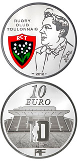 10 euro coin Toulon Rugby Club | France 2012