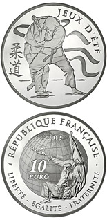 10 euro Judo - 2012 - Series: Summer and Winter Olympic Games - France