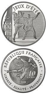 10 euro Handball - 2010 - Series: Summer and Winter Olympic Games - France