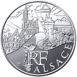 10 euro coin Alsace | France 2011