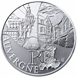 10 euro coin Auvergne | France 2011