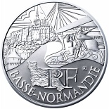 10 euro coin Lower Normandy | France 2011