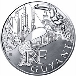 10 euro coin French Guiana  | France 2011