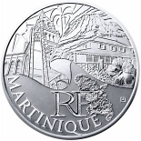 10 euro coin Martinique  | France 2011