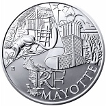 10 euro coin Mayotte  | France 2011