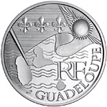 10 euro coin Guadeloupe  | France 2010