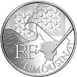 10 euro coin Limousin | France 2010