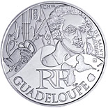 10 euro coin Guadeloupe (Chevalier de Saint-Georges) | France 2012