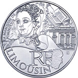 10 euro coin Limousin (Pompadour) | France 2012