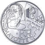 10 euro coin Mayotte (Zéna M'déré) | France 2012