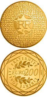 200 euro coin Regions of France | France 2012
