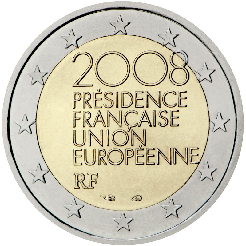 Image of French Presidency of the Council of the European Union – 2 euro coin France 2008