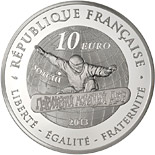 10 euro Snowboard - 2013 - Series: Winter Olympic Games - France