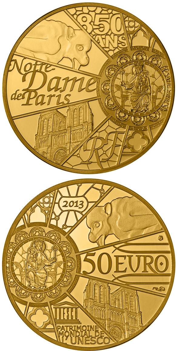 Unesco World Heritage The 0 Euro Coin Series From France