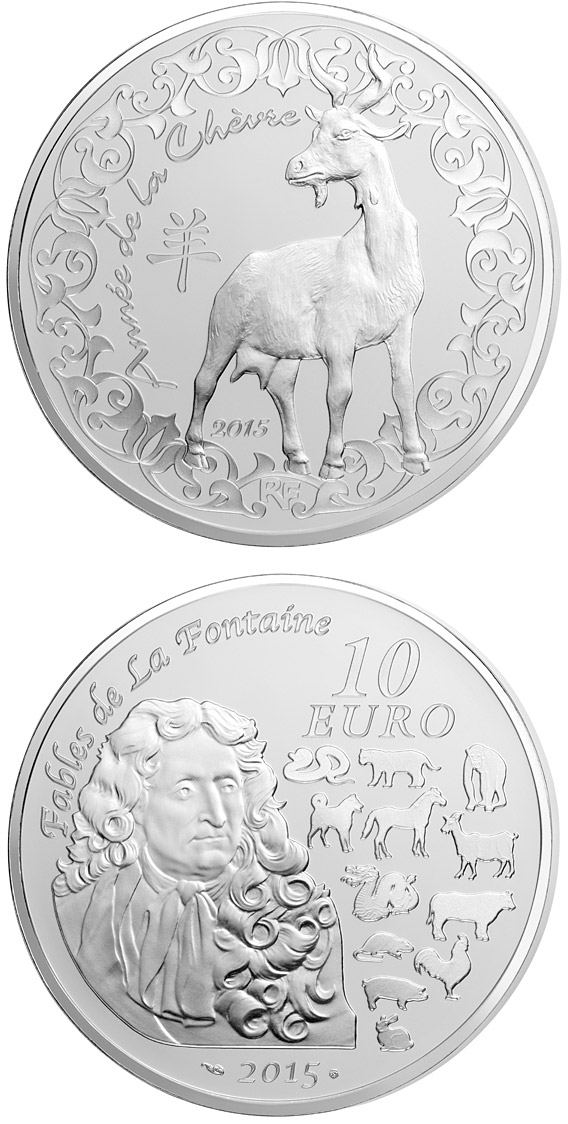 10 euro Year of the Goat - 2015 - France