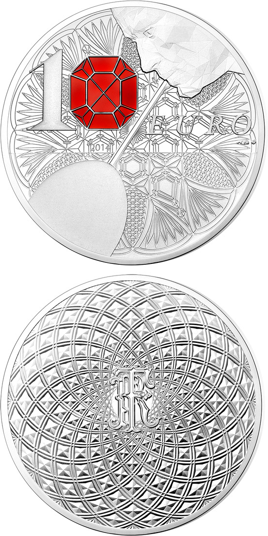 10 euro Baccarat - French Excellency - 2014 - France