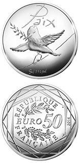 50 euro coin Values of the French Republic - 50€ Spring / Summer | France 2014