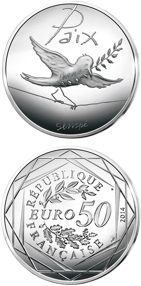 50 euro Values of the French Republic - 50€ Autumn / Winter - 2014 - France